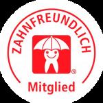 Logo Aktion Zahnfreundlich Mitgliedschaft - Zahnmedizin an der Haranni Clinic