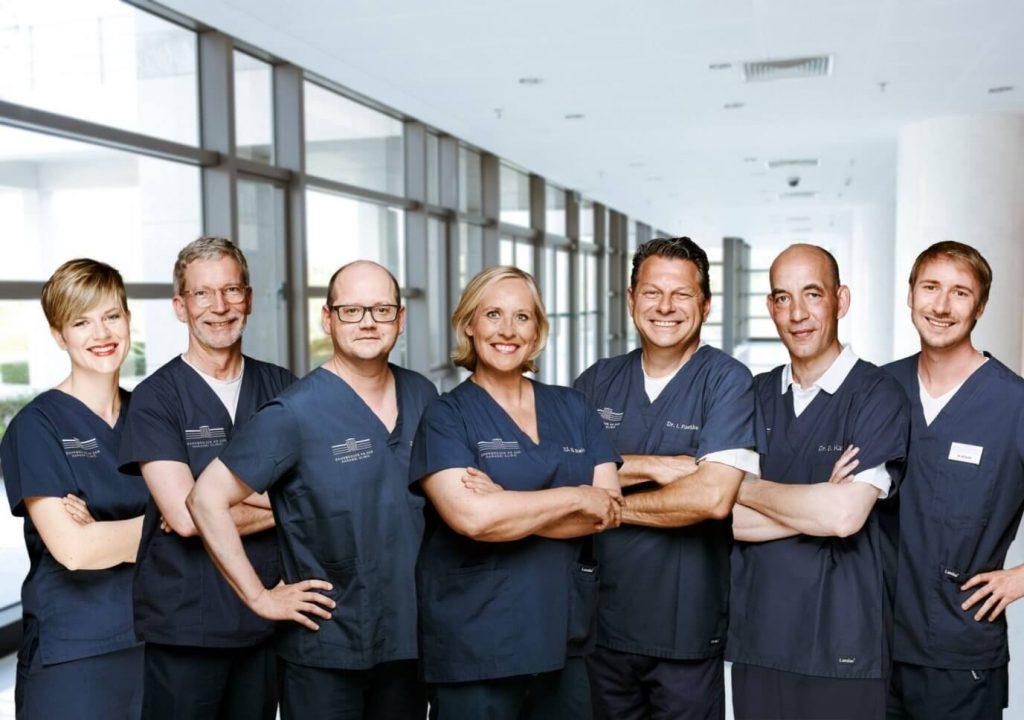 Zahnarzt Team der Haranni Clinic in Herne